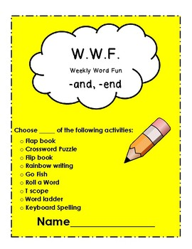 The WWF (Weekly Word Fun) Special Consonant Combinations