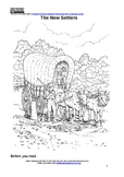 The Wagon Train - guided reading