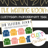 The Waiting Room Poster - Classroom Management Tool