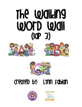 The Walking Word Wall - lap 2