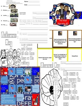The Wall Eve Bunting Reader's Theatre Memorial & Veterans Day SPED/ESL