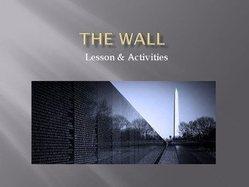 The Wall Lessons & Activities