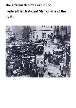 The Wall Street bombing Handout
