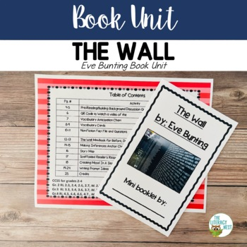 The Wall by Eve Bunting Book Unit: Pairing Fiction With No