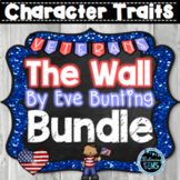 The Wall by Eve Bunting Character Traits Bundle | Memorial Day Activities