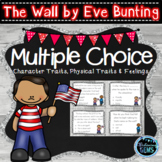The Wall by Eve Bunting Character Traits Task Cards | Inferring Character Traits