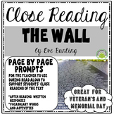 Veteran's Day Read Aloud - The Wall by Eve Bunting - Page by Page Comprehension