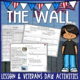 The Wall by Eve Bunting Theme Interactive Read Aloud & Veterans Day Activities