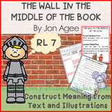 The Wall in the Middle of the Book Lesson and Book Companion - Distance Learning