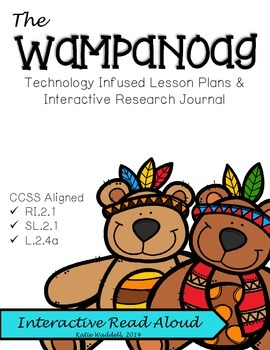 The Wampanoag {Lesson Plans & Interactive Research Journal}