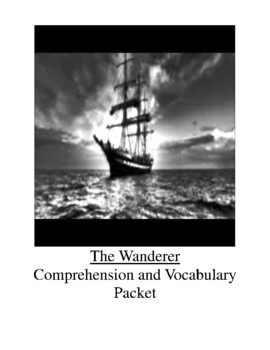 The Wanderer by Sharon Creech Comprehension and Vocabulary Packet