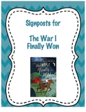 The War I Finally Won - Novel Study Guide with Signposts (CCSS Aligned)