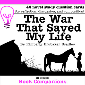 The War That Saved My Life Discussion Question Cards
