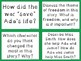 The War That Saved My Life Novel Study Discussion Question Cards