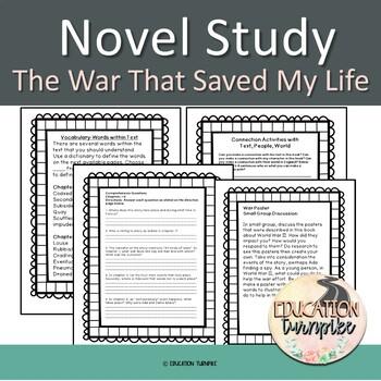 The War That Saved My Life Novel Study