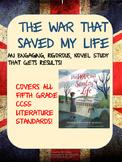 The War That Saved My Life Novel Study using Socratic Seminar