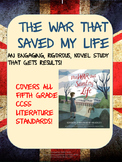 The War That Saved My Life Novel Study using Socratic Seminar