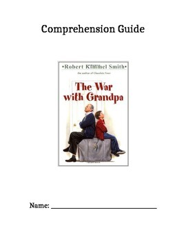 The War With Grandpa Comprehension and Skills Pack