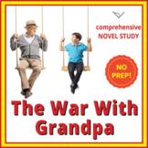 The War With Grandpa - Comprehensive Novel Study - SL Book