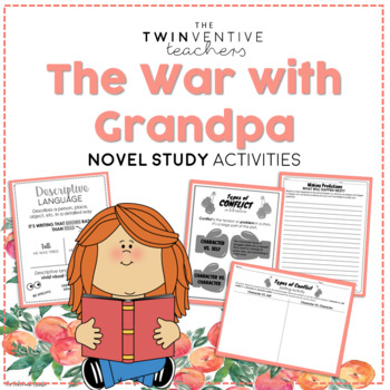The War With Grandpa Novel Study - The Twinventive Teachers