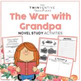 The War With Grandpa Novel Study - The Twinventive Teachers