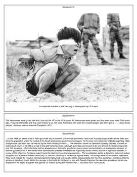 The War in Vietnam (Document Packet)