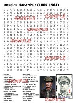 The War in the Pacific World War Two Word Search Pack