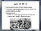 The Young United States - The War of 1812 PowerPoint