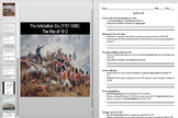 The War of 1812 Lesson Plan Powerpoint AND Notes Worksheet