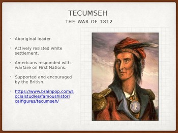 The War of 1812 PowerPoint