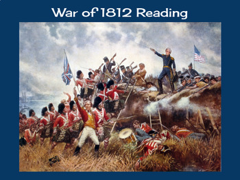 The War of 1812 Reading
