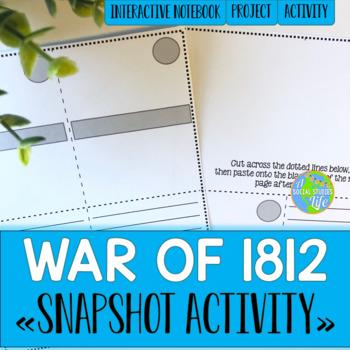 War of 1812 Snapshot Foldable