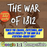 War of 1812: Causes & Outcomes of War of 1812, James Madison, & Tecumseh!