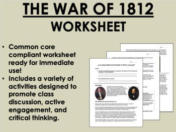The War of 1812 - US History/APUSH Common Core