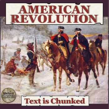 The War of Independence Reading Activities