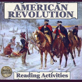 American Revolution Reading Activities