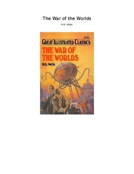 The War of the Worlds Vocab and Comprehension