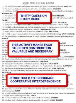 The War on Terror: Interdependent Share-Sheets Activity