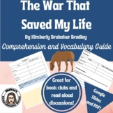 The War That Saved My Life Comprehension Questions and Voc