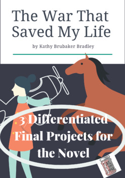 The War that Saved My Life Differentiated Final Projects for the Novel