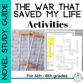 The War that Saved My Life - Word Search and Crossword Puzzle