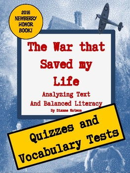 The War that Saved my Life Quizzes and Vocabulary Tests