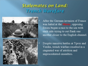 The War to End All Wars: An Overview of WWI & its Legacy