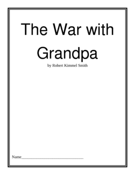 The War with Grandpa Activity Packet