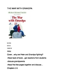 The War with Grandpa- Guided Reading Group/Literature Circ