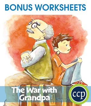 The War with Grandpa - Literature Kit Gr. 3-4 - BONUS WORKSHEETS