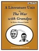 The War with Grandpa Literature Unit
