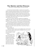 The Warrior and the Princess (Lexile 780)