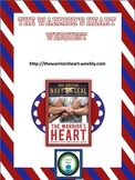 The Warrior's Heart Webquest Packet (Bonus Novel Quiz!)