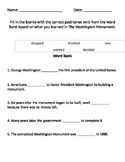 The Washington Monument Worksheet